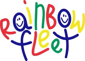 Rainbow Fleet Logo Color